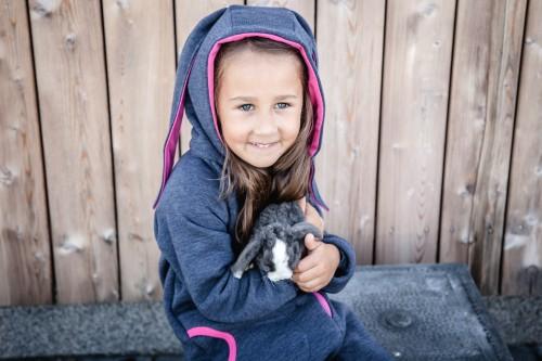 Fuchsia - Blue Bunny