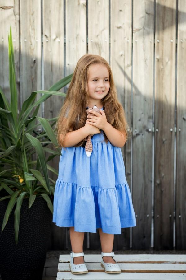 Suknelė VASARA - melsva