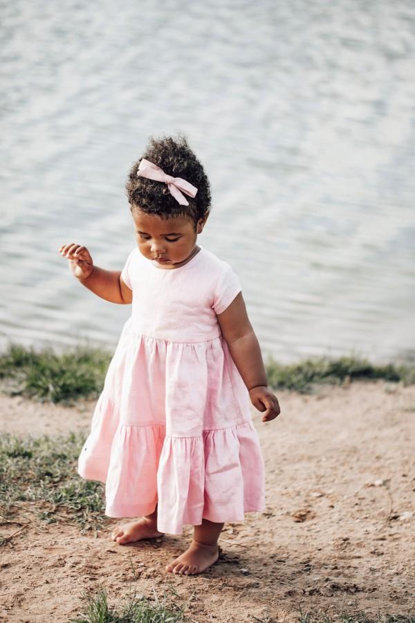 Suknelė VASARA - rožinė
