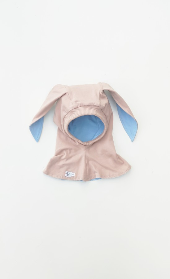 Creamy- Beige Bunny Autumn - Light Blue