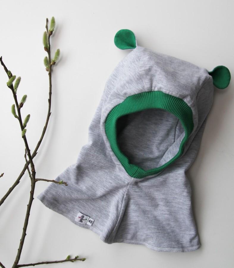Grey - Green Bear Autumn