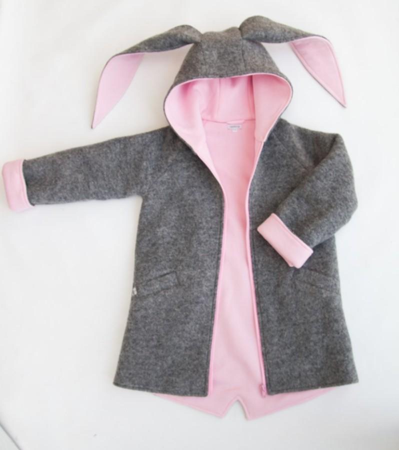 Pink - Grey Bunny