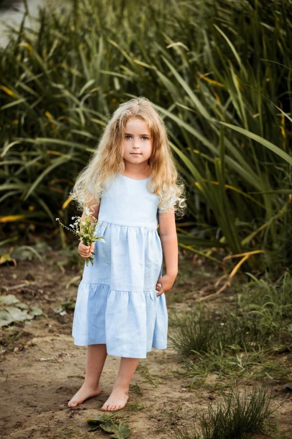 Suknelė VASARA - žydra