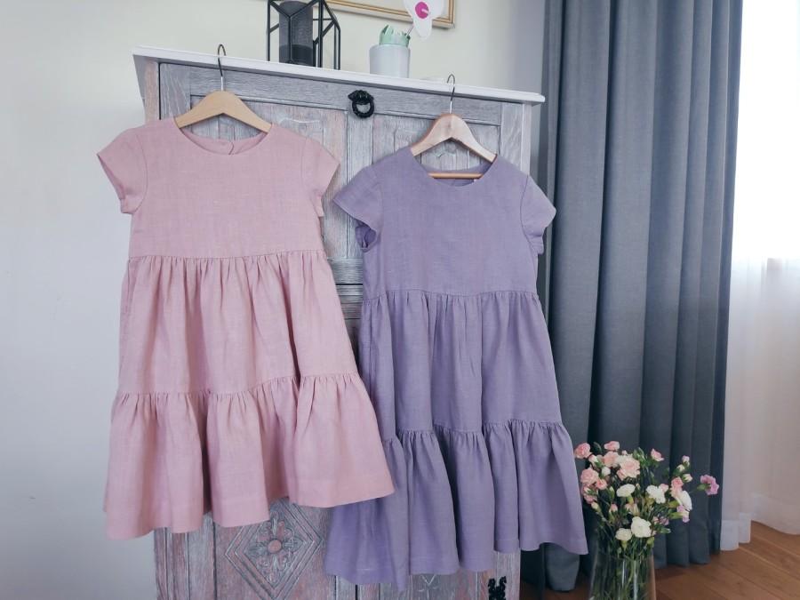 Suknelė VASARA - pelenų rožinė