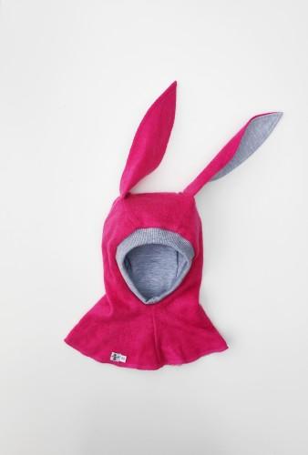 VILNONIS ŠALMAS  Fuchsia Bunny