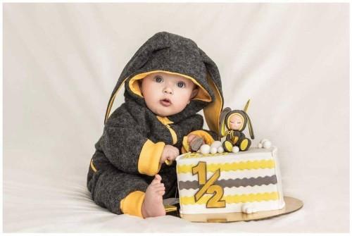 Wool Baby Yellow Bunny